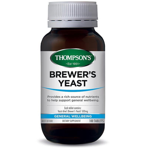 General Wellbeing - Brewer's Yeast 500mg