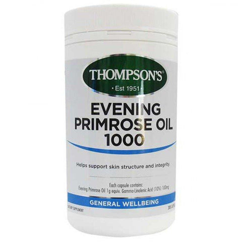 General Wellbeing - Evening Primrose Oil 1000mg