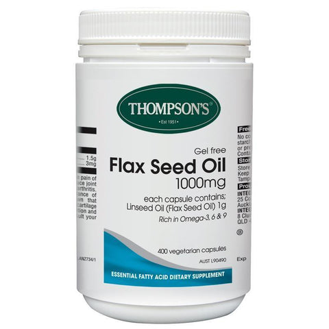 General Wellbeing - Flaxseed Oil 1000mg