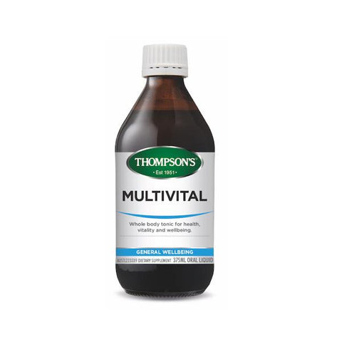 General Wellbeing - Multivital 375ml At Natural Zealand