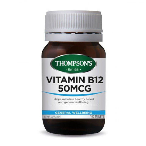 General Wellbeing - Vitamin B12 DR 50mcg