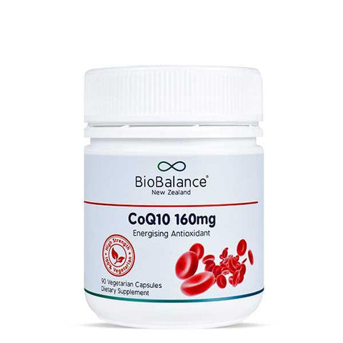 Heart Health - CoQ10 160mg, Coenzyme Q10 Supplement, Shop Online NZ | Natural Zealand