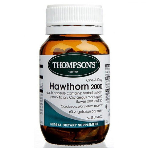 Hawthorn 2000 One-A-Day, Healthy Heart | Natural Zealand
