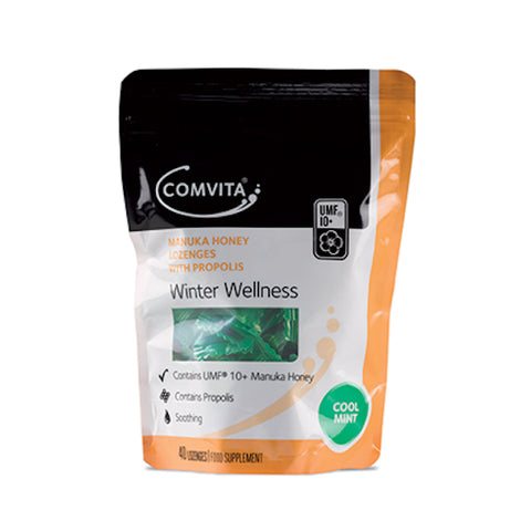 Honey - Comvita Manuka Honey Lozenges - Cool Mint