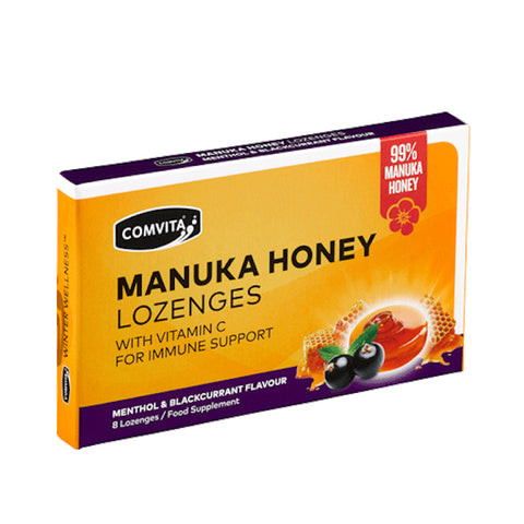 Honey - Comvita Manuka Honey Lozenges - Menthol & Blackcurrant At Natural Zealand