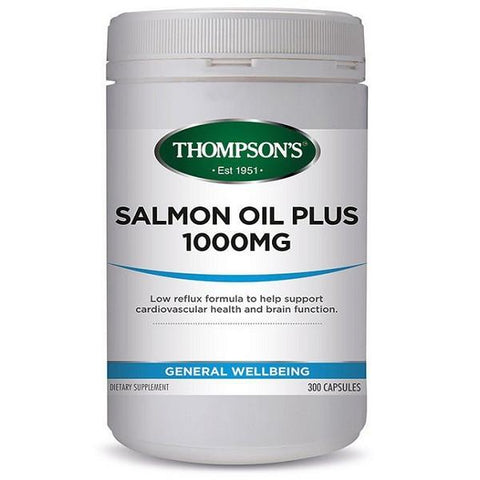 Joint, Muscle & Bone - Salmon Oil 1000Salmon Oil 1000mg, Omega 3 fish Oil, Healthy Heart | Natural Zealand