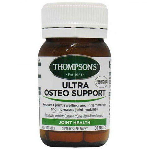 Joint, Muscle & Bone - Ultra Osteo Support 30T At Natural Zealand