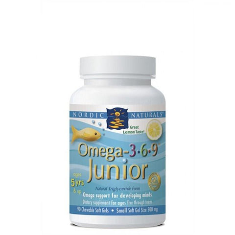 buy Complete Omega Junior online at Natural Zealand by Nordic Naturals , Kids Health