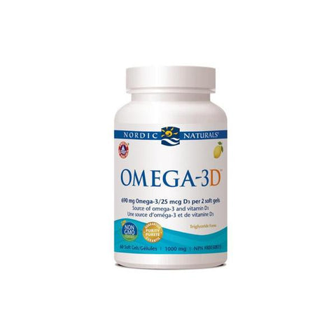 Kids Health - Omega-3D Lemon