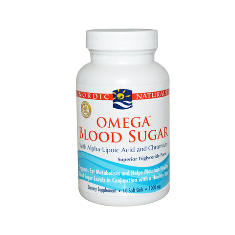 Omega - Omega Blood Sugar 920mg SoftGels 90
