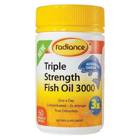 Omega - Triple Strength Fish Oil 3000