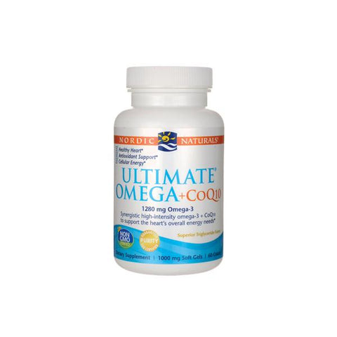 Nordic Naturals Ultimate Omega + CoQ10, Heart Health | Natural Zealand
