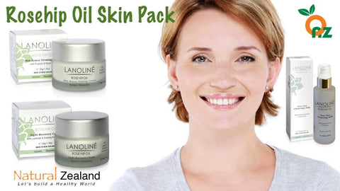 Skin Care - Lanolin Rosehip Oil Skin Pack | Natural Zealand