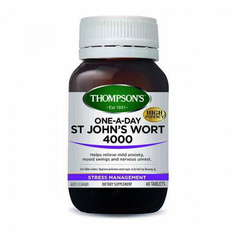 Stress - One-A-Day St John's Wort 4000