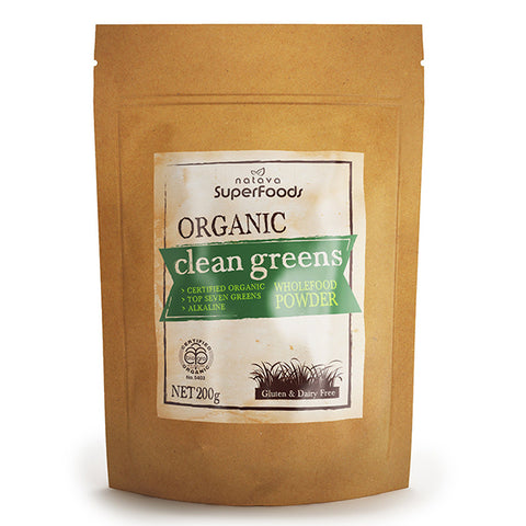Superfood - Organic Clean Greens - Shop Superfoods NZ Online | Natural Zealand