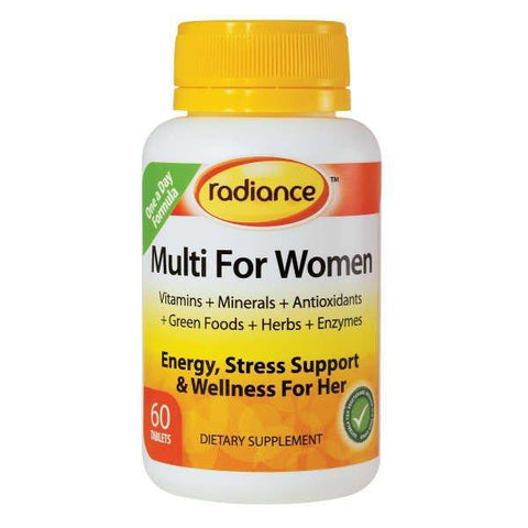 buy Multi For Women online at Natural Zealand by Radiance , Women's Health