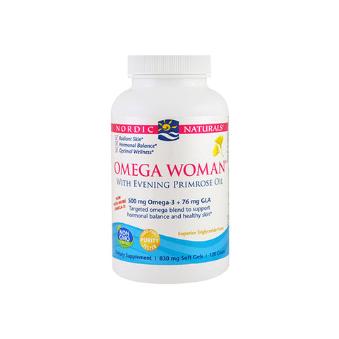 Women's Health - Omega Women 500mg Soft Gels 120 - Lemon