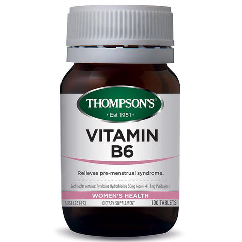 Women's Health - Vitamin B6 50Mg