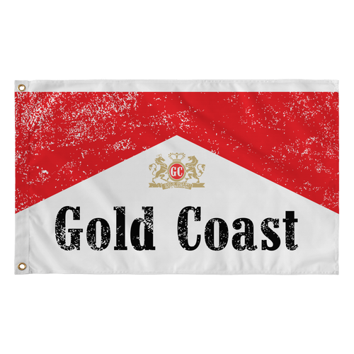 Red & White Flag - Gold Coast Shop