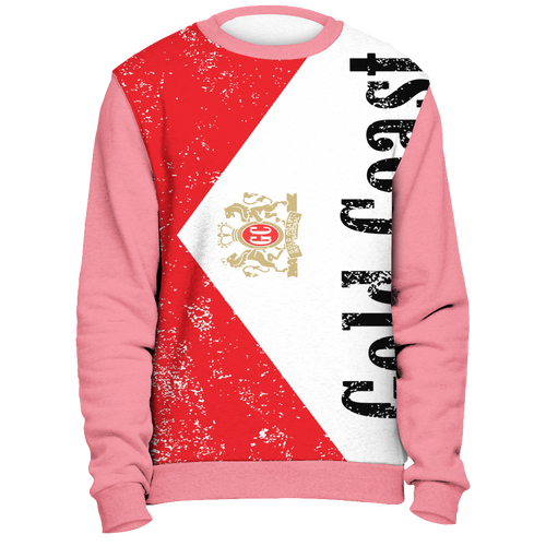 Gold Coast All Over Print Crewneck - Gold Coast Shop