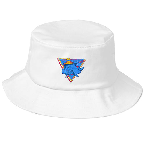 Party Time Old School Bucket Hat - Gold Coast Shop