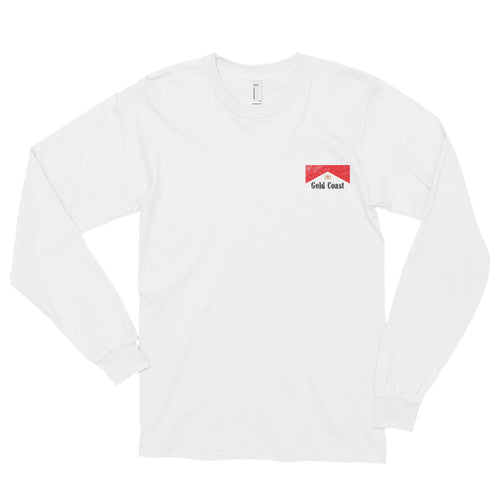 GC Red & White Longsleeve - Gold Coast Shop