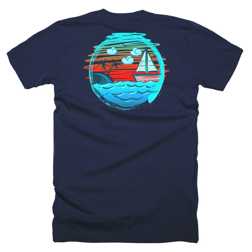 GC Boat Tee - Gold Coast Shop