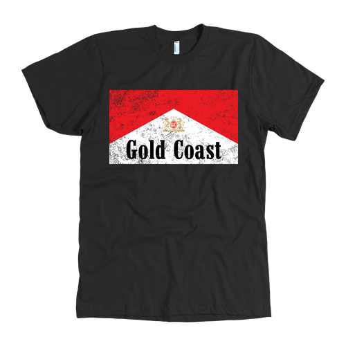 GC Red & White Tee - Gold Coast Shop