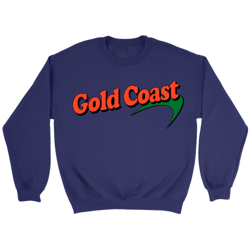 GC Green Port Crewneck - Gold Coast Shop