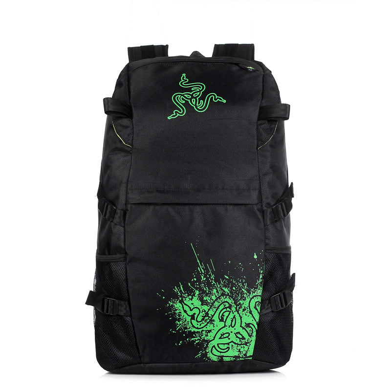 Black Backpack for Gamers