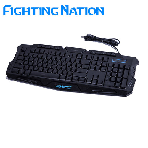 Fighting Nation Backlit RGB Mechanical Keyboard