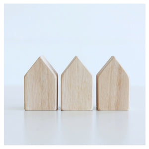 Wooden House Blocks by Seed Studio Toys