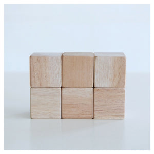 Wooden Blocks (Set of 6)