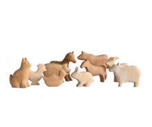 Wooden Animals Set