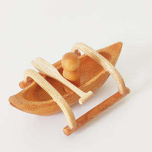 New! Wooden Bangka