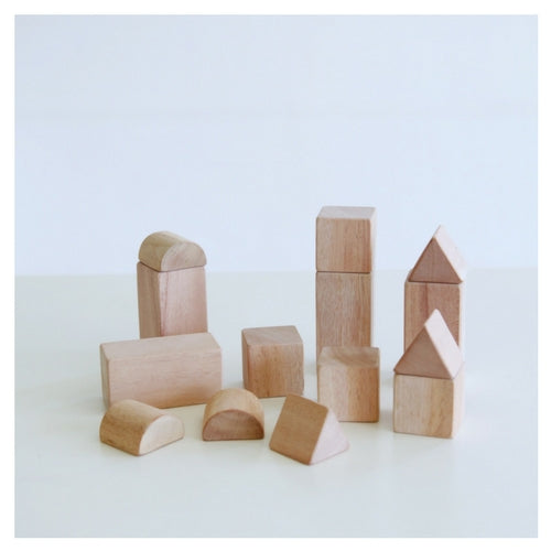 Wooden Building Blocks Set by Seed Studio Toys