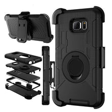 Load image into Gallery viewer, Phone Accessories-Military Belt Clip Stand Case For Samsung