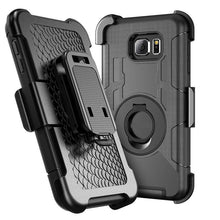 Load image into Gallery viewer, Phone Case-Military Belt Clip Stand Case