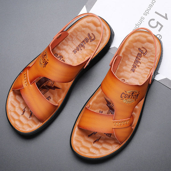 Letter Leisure Men's Sandals