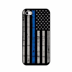 Luxury Retro USA Flag  Hard Plastic Phone Case