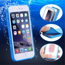 Load image into Gallery viewer, Phone Case - Shockproof Waterproof Soft Silicone Touch Cover Case