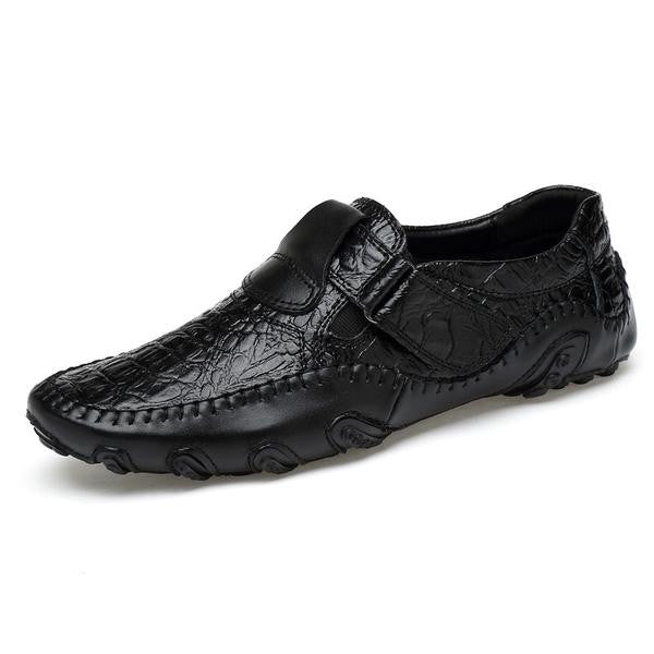 Soft Leather Male Big Size Moccasin Driving Loafers Shoes