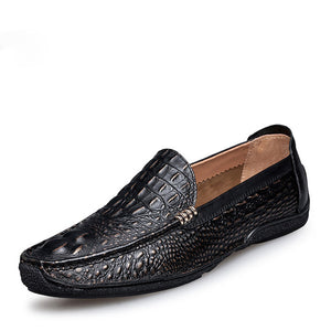 Genuine Leather Slip-on Men Loafers