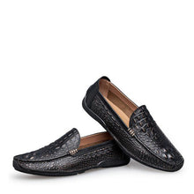 Load image into Gallery viewer, Genuine Leather Slip-on Men Loafers