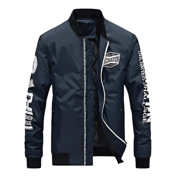 Rock Loose Baseball Uniform Outdoor Men's Jacket