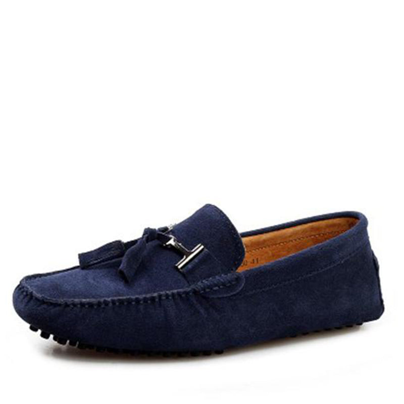 Shoes-2017 New Fashion Men's Genuine Leather Moccasins Driving Shoes