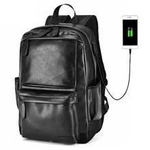 Load image into Gallery viewer, Vintage Boy Casual USB Backpack