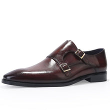 Load image into Gallery viewer, Fashion Double Monk Strap Dress Shoes
