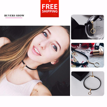 Load image into Gallery viewer, Popular Gothic Style Charms Tattoo Choker