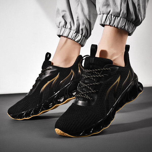 Mesh Sporty Plus Size Men's Sneakers